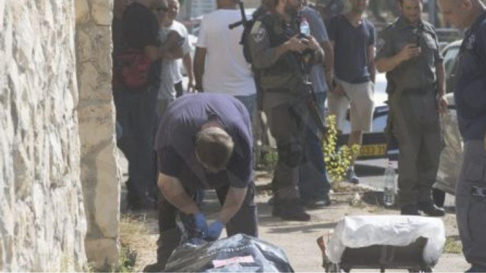 Νεκρή Παλαιστίνια έπειτα από επίθεση σε ισραηλινή γυναίκα στρατιώτη