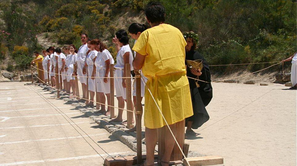 Σχολή Αρχαίου Ελληνικού Αθλητισμού στην αρχαία Νεμέα