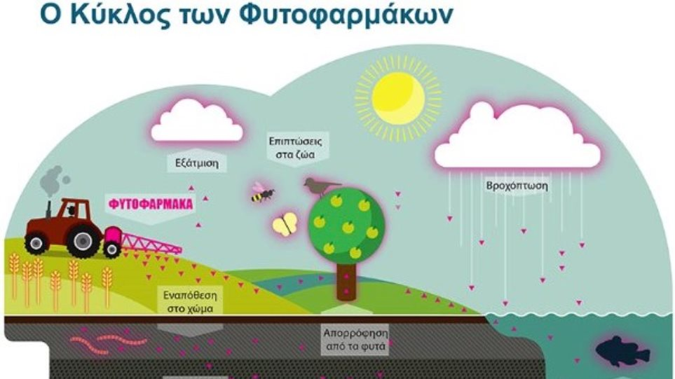 Greenpeace: Καταργήστε τη χρήση των συνθετικών-χημικών φυτοφαρμάκων