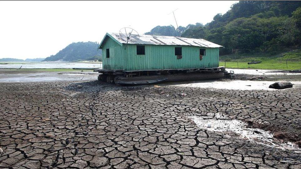 Απίστευτες φωτογραφίες: Δείτε τον Αμαζόνιο στην χειρότερη ξηρασία των τελευταίων 100 ετών