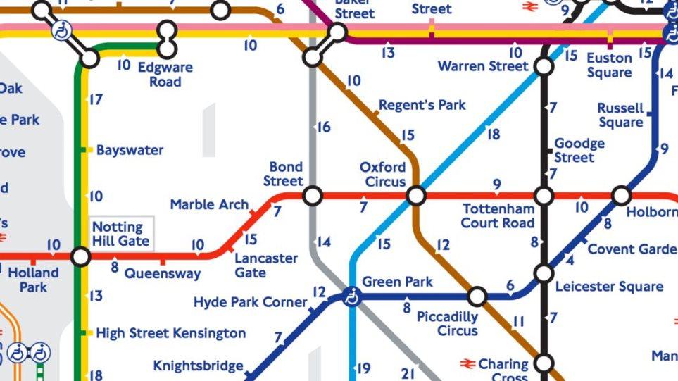 O Neos Xarths Toy Metro Sto Londino Soy Deixnei Pws Na Mhn Ton