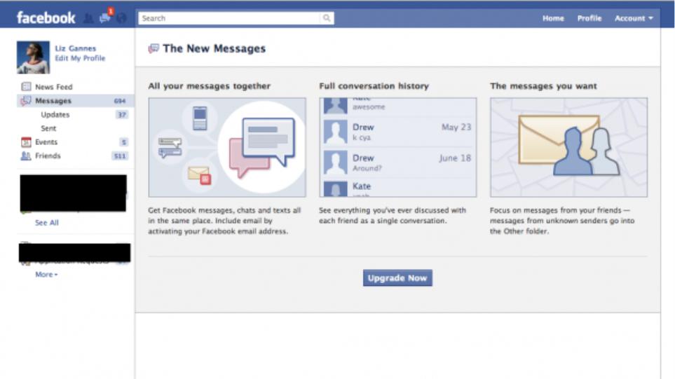 Facebook: Νέα υπηρεσία για μηνύματα που διαρκούν για μόλις μία ώρα