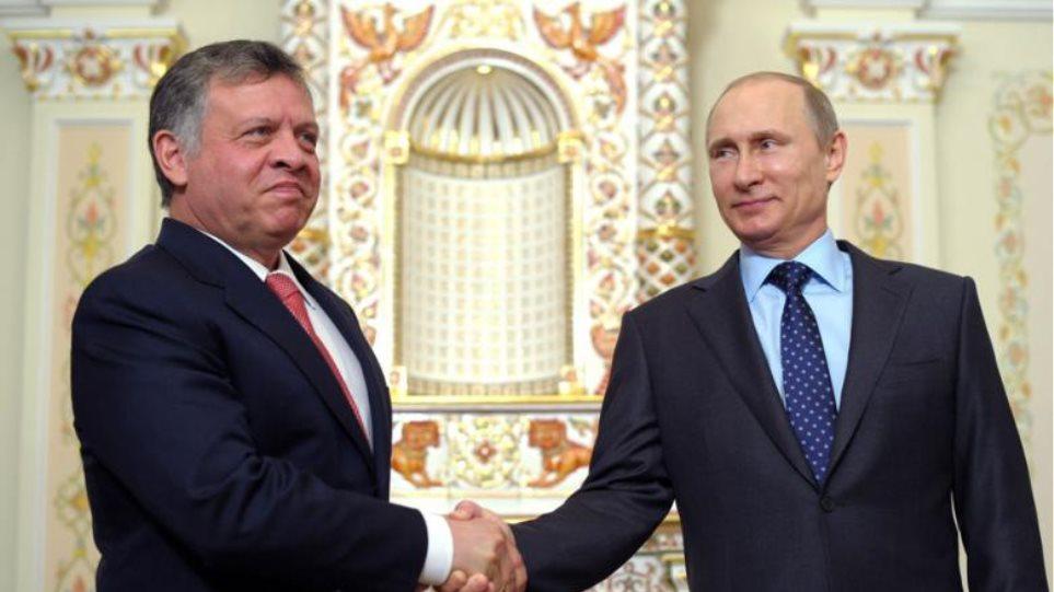 Συνάντηση του βασιλιά Αμπντάλα με τον Πούτιν για τη Συρία