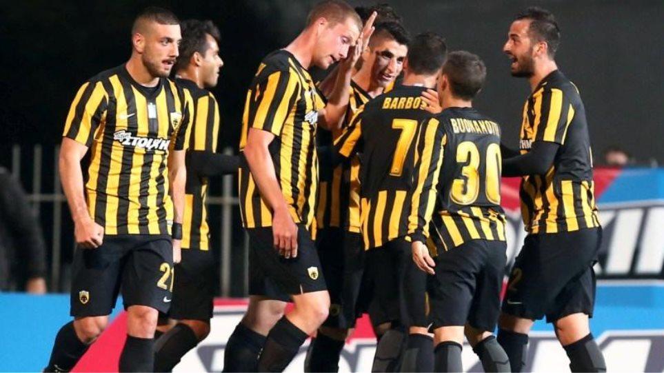 AEK: Ξεχνάει την εμφάνιση και κρατά μόνο τη νίκη (2-1) κόντρα στον Πανθρακικό