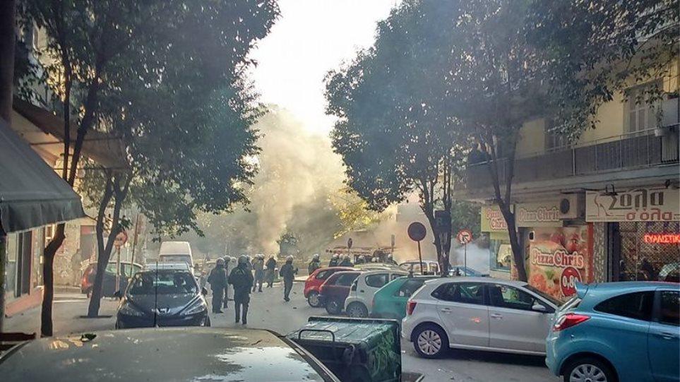 Επεισόδια στη Θεσσαλονίκη μετά την πορεία στη μνήμη του Αλέξη Γρηγορόπουλου