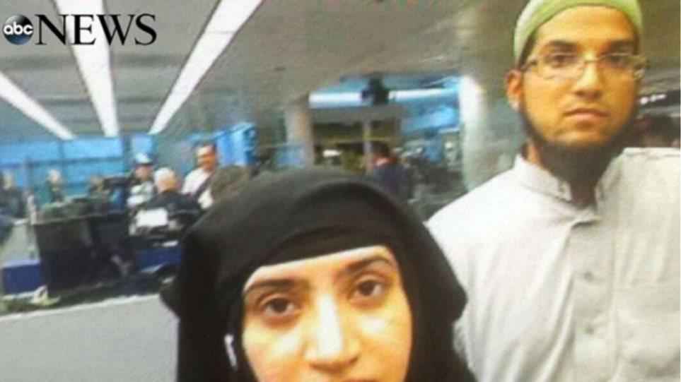 Η «βλοσυρή» selfie των τρομοκρατών του Σαν Μπερναρντίνο