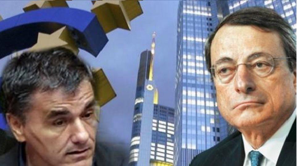 Συνάντηση Τσακαλώτου - Ντράγκι με «μενού» τράπεζες και χρηματοδότηση