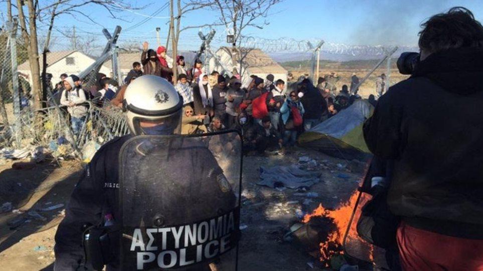 Ειδομένη: Φτάνουν οι άντρες της Frontex - «Φουντώνουν» οι διαμαρτυρίες από τους κατοίκους