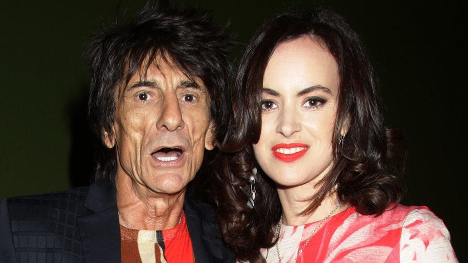 Ξανά πατέρας στα 68 του ο Ρόνι Γουντ των Rolling Stones