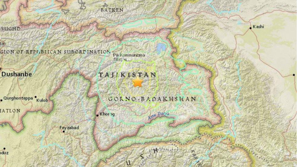 Mega-σεισμός 7,2 Ρίχτερ στο Τατζικιστάν