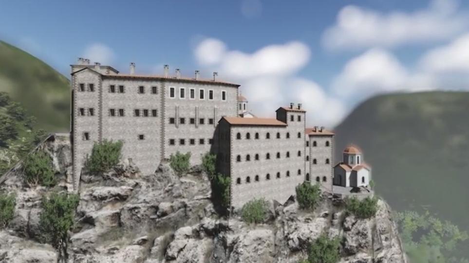 Βίντεο: Τρισδιάστατο ταξίδι στον Άη Γιώργη των Ποντίων