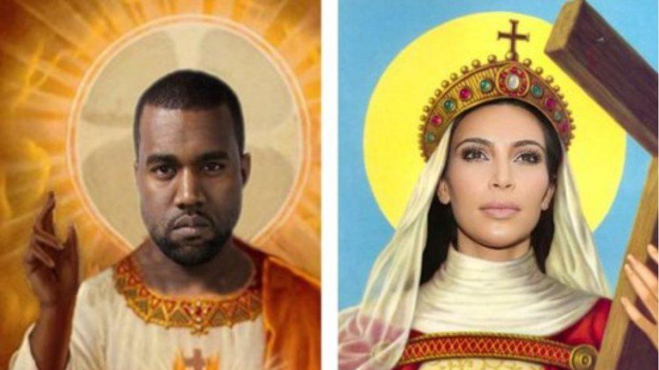 Η αγία οικογένεια Kardashian- West - Τα «τρολ» εμπνέονται από το όνομα του νεογέννητου