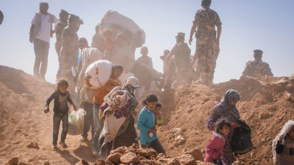 ΟΗΕ: Έκκληση προς την Ιορδανία να δεχτεί 12.000 πρόσφυγες που περιμένουν στα συριακά σύνορα