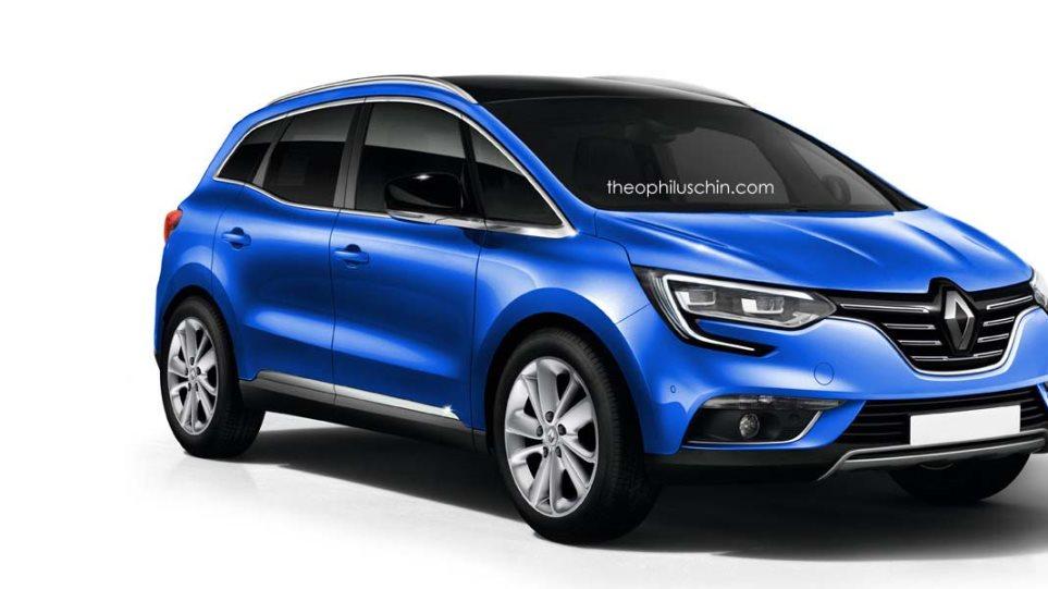 Ερχεται το νέο Renault Scenic (video)