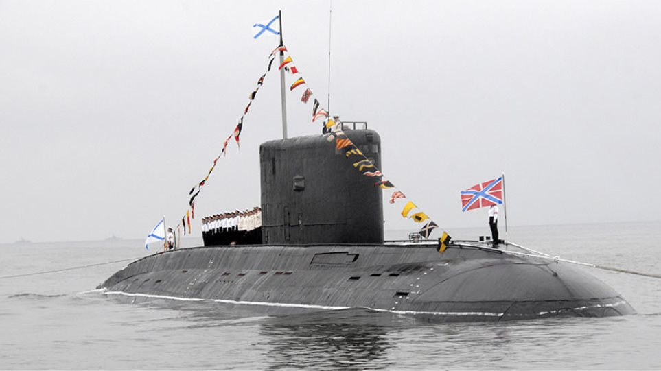 Ανοιχτά της Συρίας το πιο «αθόρυβο» ρωσικό υποβρύχιο με πυραύλους Κρουζ