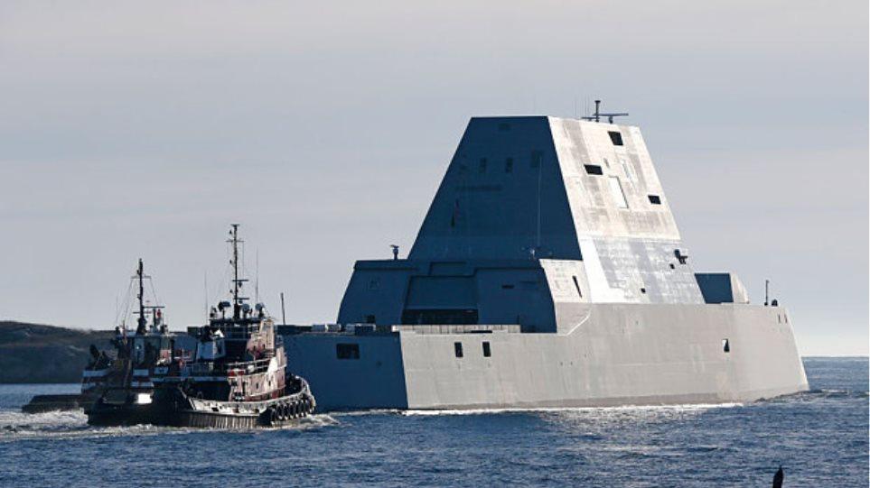 «USS Zumwalt»: Αυτό είναι το νέο «διαμάντι» του αμερικανικού στόλου
