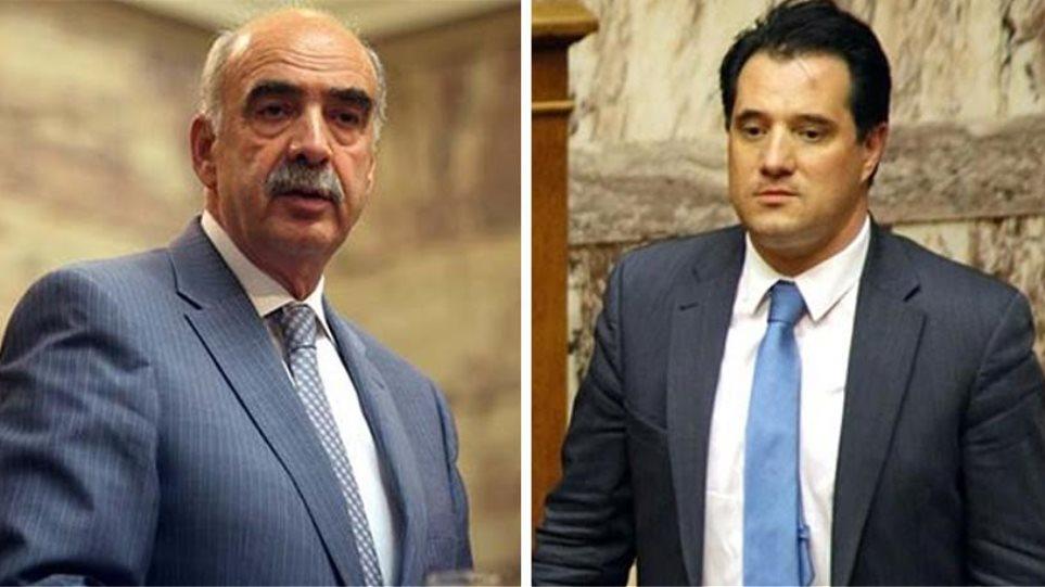 Διαψεύδουν Μεϊμαράκης-Άδωνις ότι αποχωρούν από την κούρσα διαδοχής