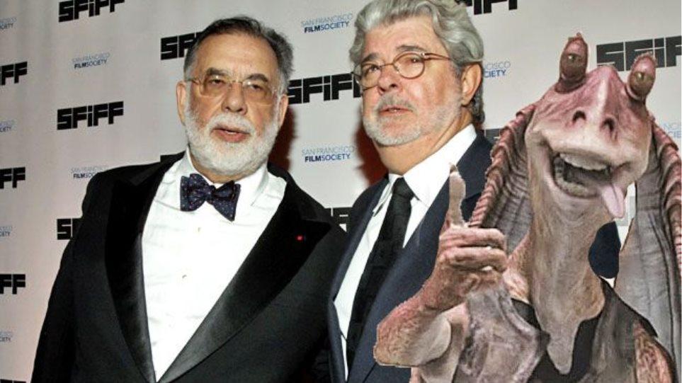 «Καρφί» Κόπολα για Τζορτζ Λούκας: Κρίμα, έχασε τον εαυτό του με το Star Wars