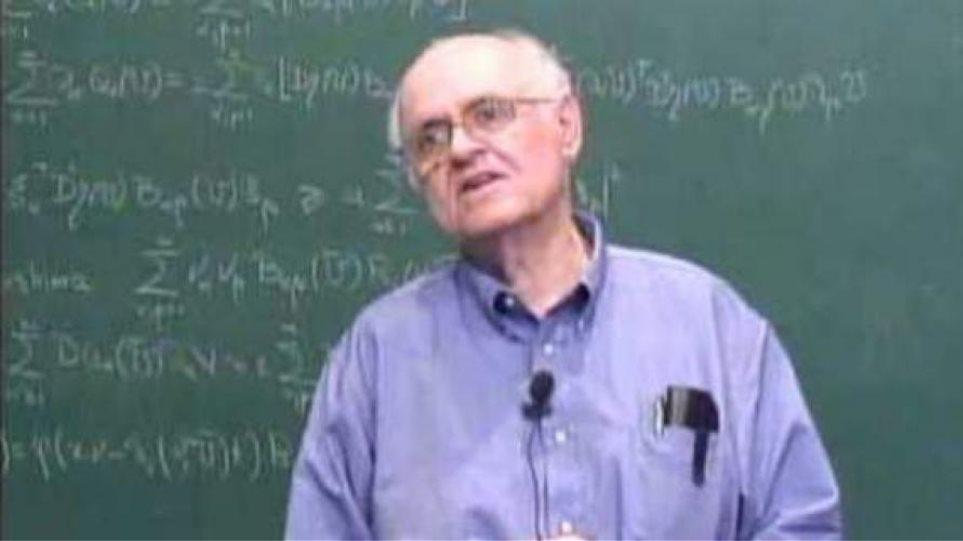 Την κορυφαία διάκριση Nobert Wiener Prize απέσπασε ο Έλληνας μαθηματικός Κ. Δαφέρμος