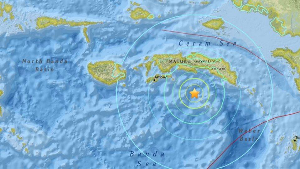 Ινδονησία: Ισχυρός σεισμός 7,1 βαθμών Ρίχτερ