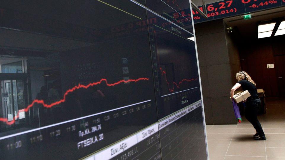 Με πτώση 3,8% έκλεισε το Χρηματιστήριο
