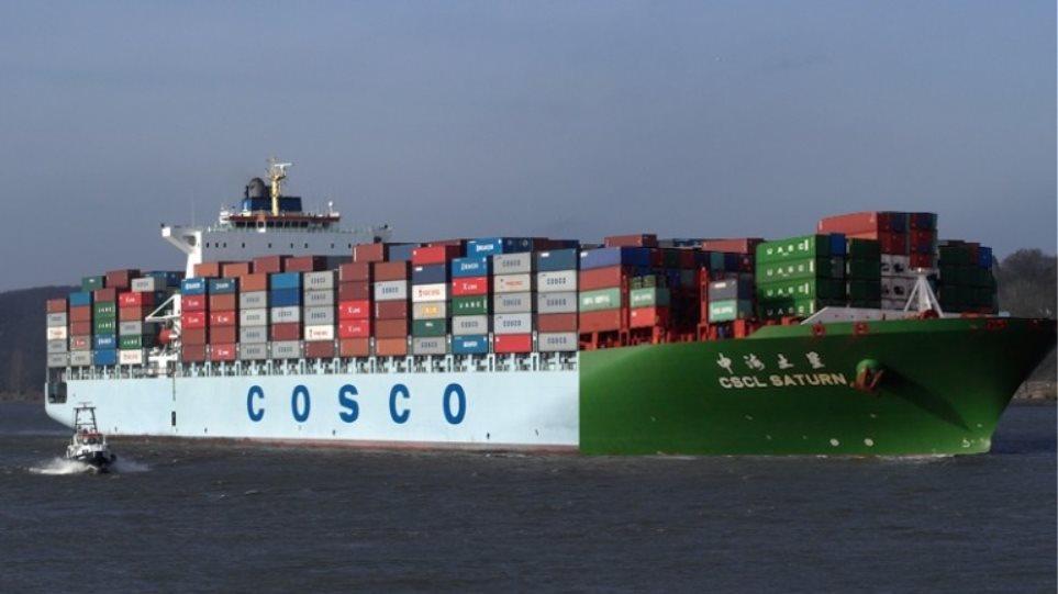 «Πράσινο» στη συγχώνευση Cosco - China Shipping
