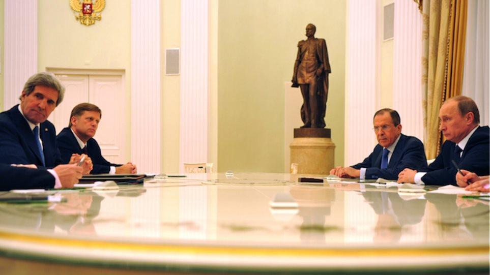 Συνάντηση Κέρι με Πούτιν και Λαβρόφ στις 15 Δεκεμβρίου