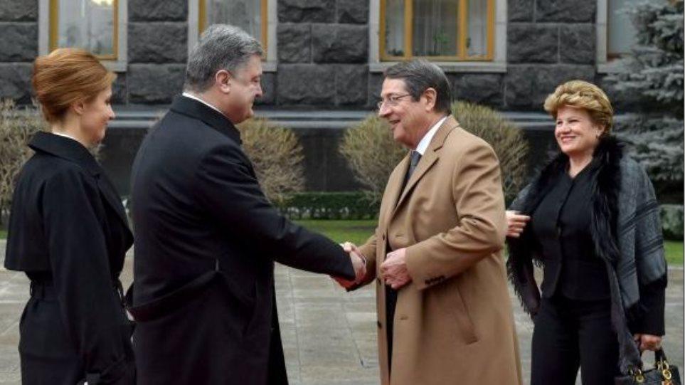 Στο Κίεβο ο Νίκος Αναστασιάδης: Στηρίζουμε την ευρωπαϊκή ολοκλήρωση της Ουκρανίας