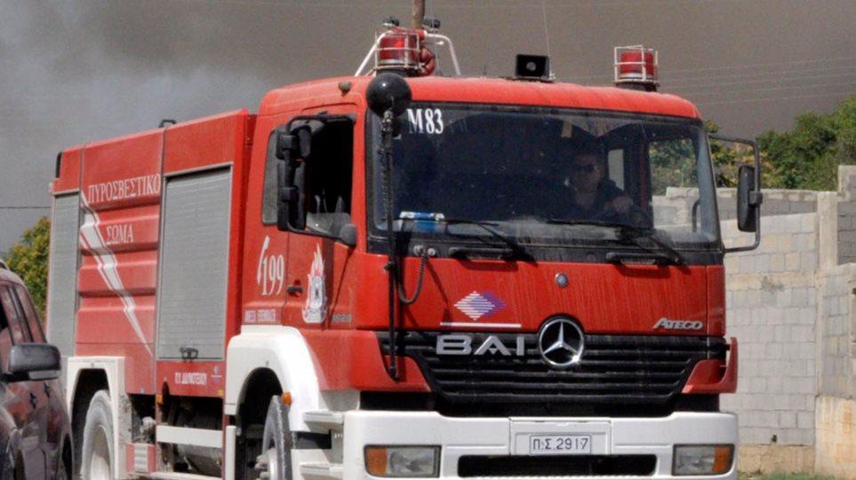 Αργολίδα: Πυρκαγιά σε σπίτι στη Νέα Τίρυνθα