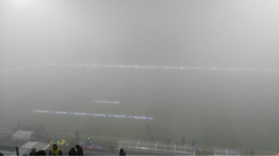 Δείτε εικόνες: Η ομίχλη δεν άφησε να γίνει το Σασουόλο-Τορίνο