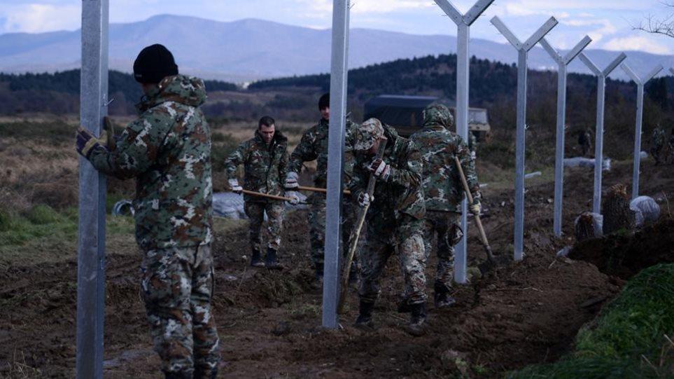 Και δεύτερο φράχτη στα σύνορα με την Ελλάδα σηκώνουν οι Σκοπιανοί