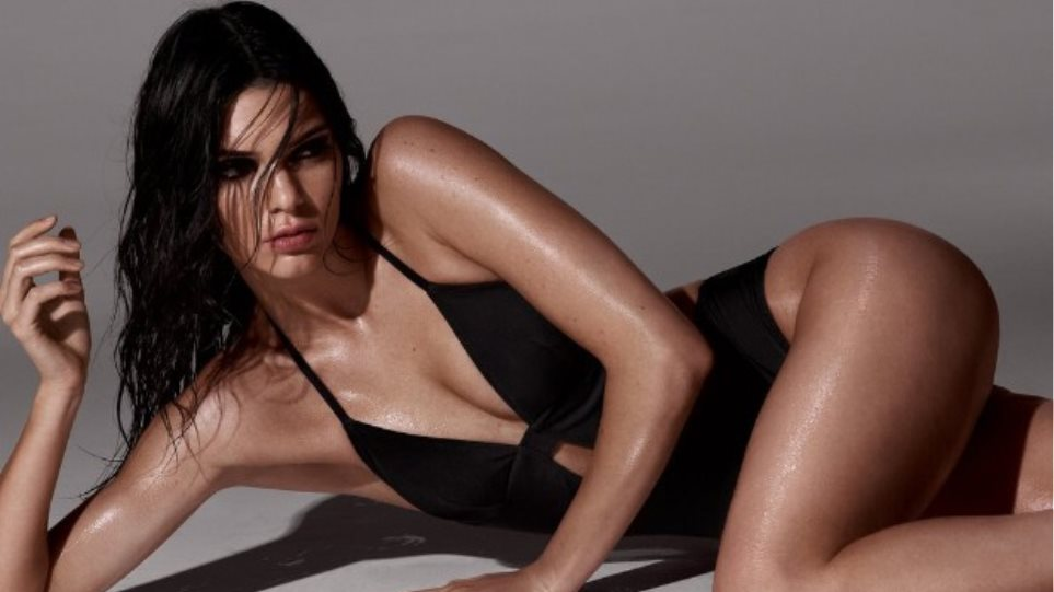 Kendal Jenner shows off her amazing figure (video)