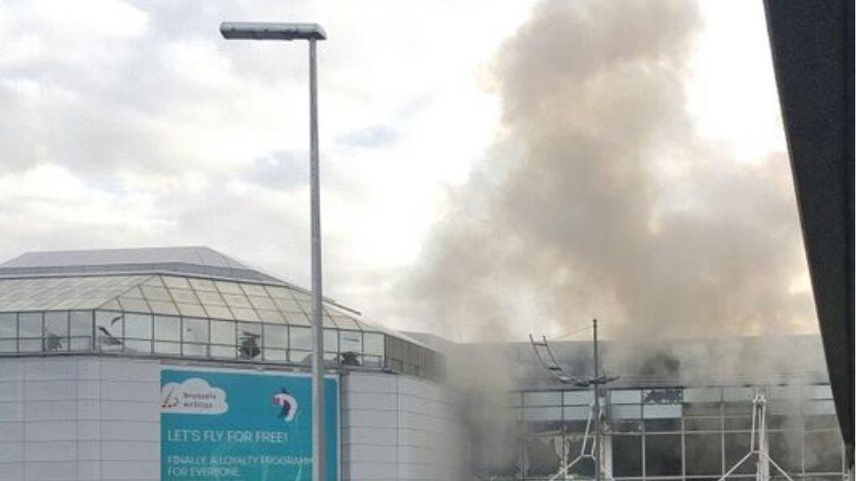 Βρυξέλλες: Τρομοκρατικό χτύπημα σε αεροδρόμιο και μετρό - Τουλάχιστον 34 νεκροί