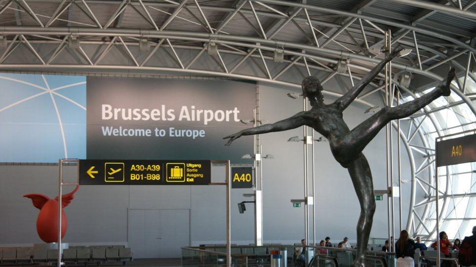 Δεν «ανοίγει» πριν από την Τρίτη το αεροδρόμιο των Βρυξελλών