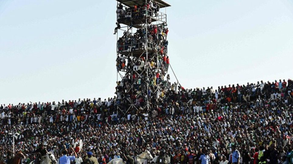 Απίστευτο: 40.000 άνθρωποι σε γήπεδο 16.000 για το Νιγηρία-Αίγυπτος!