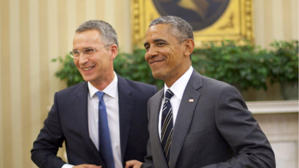 ΗΠΑ: Συνάντηση Ομπάμα-Στόλτενμπεργκ για τους τζιχαντιστές και το μεταναστευτικό