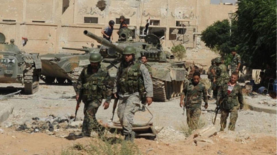 Συρία: Ο στρατός ανακατέλαβε τρεις περιοχές μέσα στην Παλμύρα