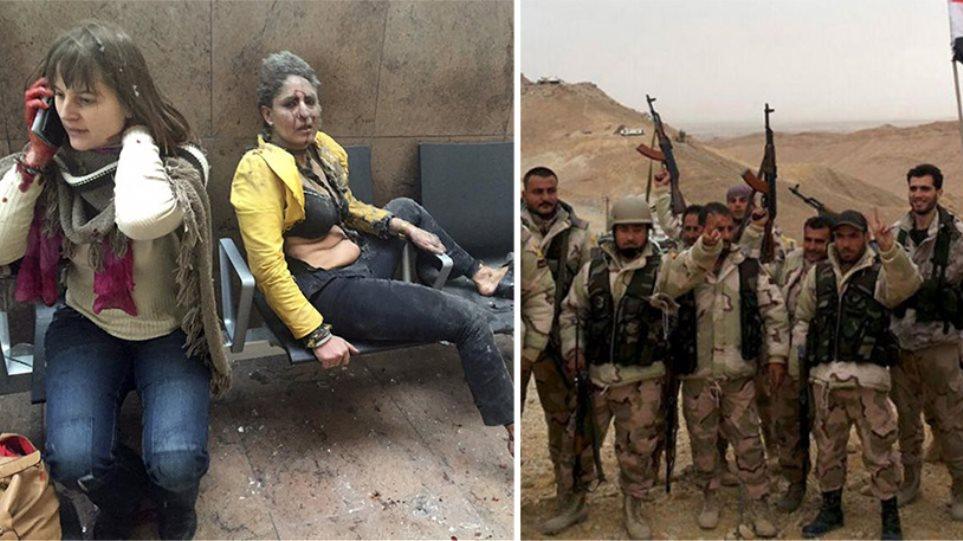 Ενώ χάνουν έδαφος στη Συρία, οι τζιχαντιστές απειλούν με επιθέσεις όπως στις Βρυξέλλες