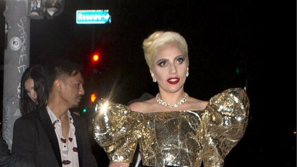 Στα χρυσά η Lady Gaga για τα 30α γενέθλιά της
