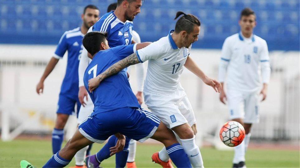 Έχασε και από το Ισραήλ (1-0) η Εθνική Ελπίδων