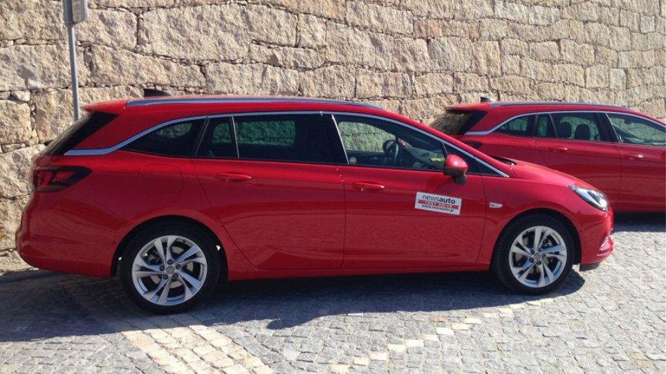 Οδηγούμε στην Πορτογαλία το νέο Astra Sports Tourer