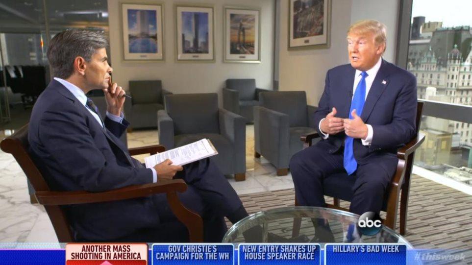 Τραμπ: Όποιος θέλει την προστασία των ΗΠΑ πρέπει να... πληρώνει