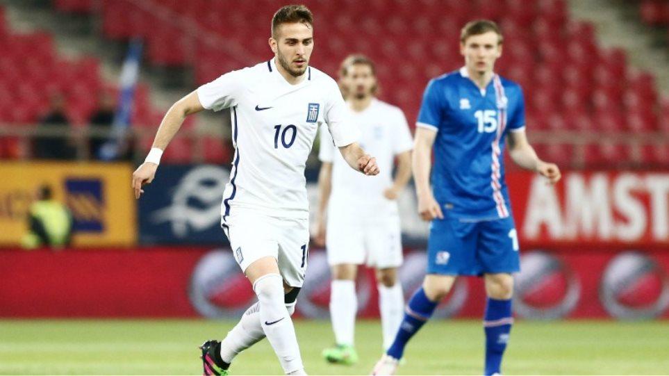 LIVE: Ελλάδα - Ισλανδία 2-3 (Τελικό)