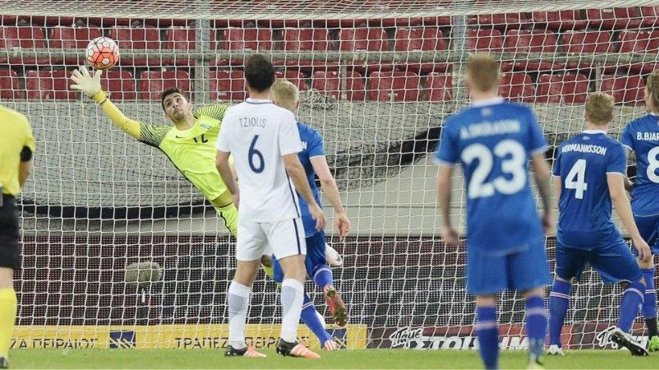 Προηγήθηκε 2-0 αλλά έχασε 3-2 από την Ισλανδία η Εθνική