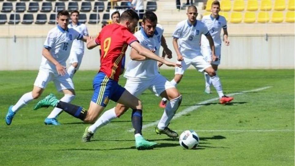 Αποκλείστηκε από το Euro η Εθνική Νέων παρά τη νίκη επί της Γεωργίας (2-1)