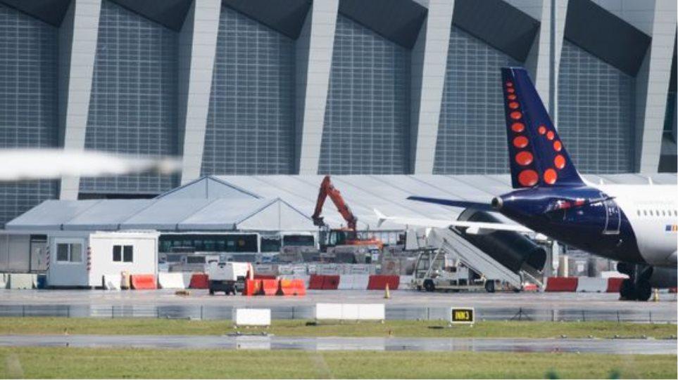 Βρυξέλλες: Πιθανό να λειτουργήσει το 20% του αεροδρομίου