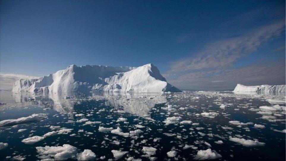 Οι υψηλές θερμοκρασίες Φεβρουαρίου και Μαρτίου λιώνουν τους πάγους στον Αρκτικό Ωκεανό