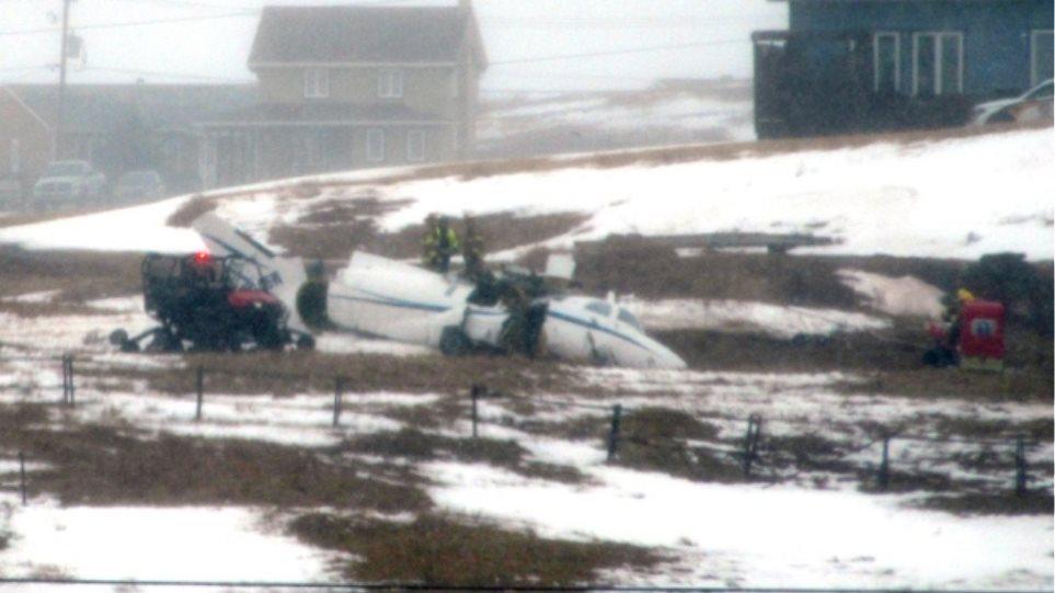 Κεμπέκ: Εφτά νεκροί από συντριβή αεροπλάνου