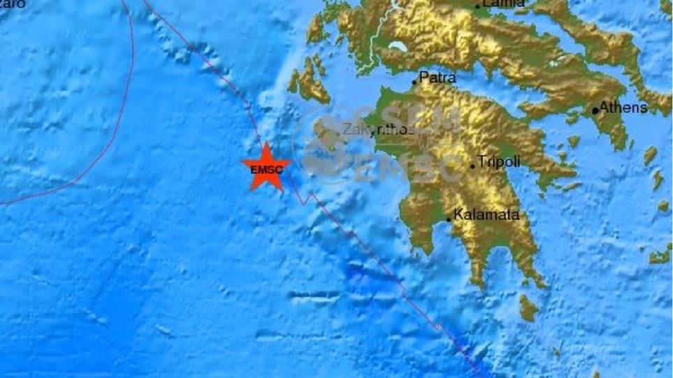 Ισχυρός σεισμός 5,2 Ρίχτερ ταρακούνησε τη Ζάκυνθο