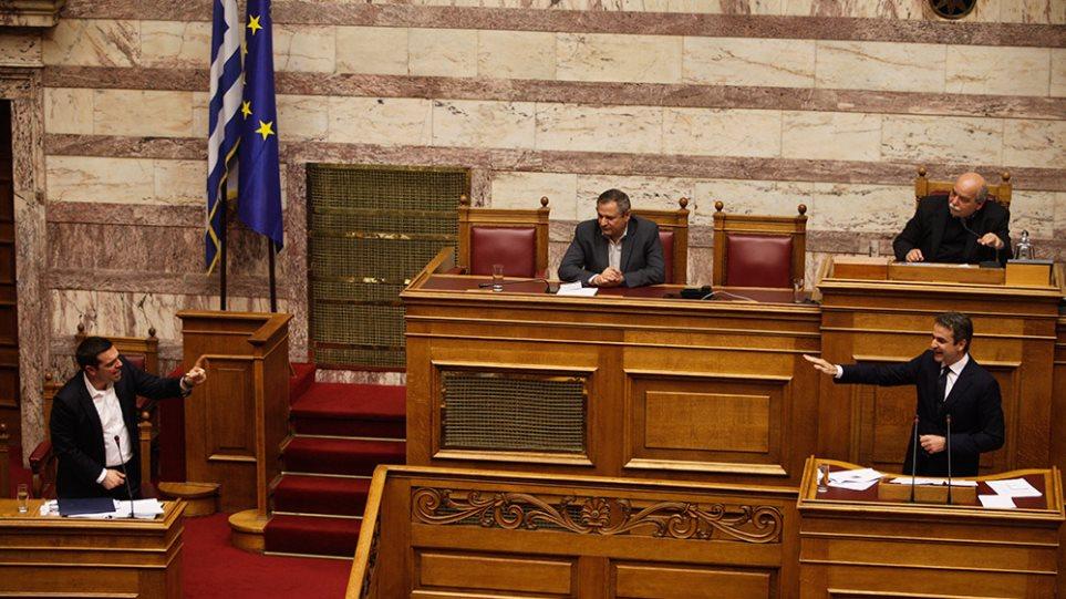 Κυριάκος σε Τσίπρα: «Η Ελλάδα δεν σας αντέχει άλλο. Πάμε σε εκλογές»